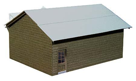 屋根はトタン張りのイメージです